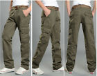 Mens New Combat Camouflage Pants Cargo Military Camo Casual Long Outdoor Trouser