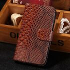Snake Effect Leather Flip Wallet Case Cover Pouch For Samsung Galaxy S3 I9300