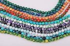 Wholesale Lots 50 Pcs Natural Gemstone Round Spacer Loose Beads Findings 6mm