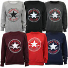 Ladies Sweatshirt Converse Womens Top Chuck Taylor All Star Fleece Lined Casual