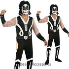 C1001 Kiss CATMAN Peter Criss Mens 80s Halloween Fancy Adult Costume