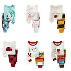 Warm NWT Baby Kid's Pajama Boys Girls Sleepwear Size 2T-7T CA LO