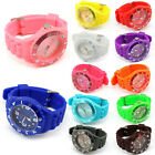 Silicone Quartz Jelly Wrist Watches for Boys Girls Mens Womens Ladies Xmas gift
