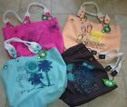 Life is Good - Lattitude Large Tote Pick from Many Patterns NWT MSRP $40
