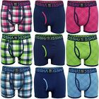Mens Boxer Shorts Xplicit Crosshatch 3 Pack Underwear Trunks Stretch