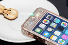 Swarovski Elements Crystal Bling metal Bumper Case Cover for iphone 5S 5