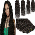 NEW #1B Natural Black Curly Wave Weft Virgin Brazilian 100% Remy Human Hair 100G