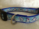 Choose Size - Sporting Bears - Dog Puppy Collar - Christmas Pattern