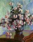 Prints on Canvas Giclee Art Chrysanthemums by Claude Monet Painting Reproduction