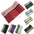 Winter Classical Men Artificial wool Scarf Tassels Scarves Long Shawl N4U8