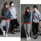 Women Men Unisex Casual Harem Hip Hop Pants Baggy Dance Sport Sweat Trousers