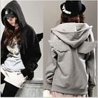 Hot sale  Fashion Korean Wings Casual Hoodie Jacket Coat tops Outerwear US TB