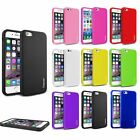 For iPhone 6 6s 4.7'' Thin Silicone Case Soft Gel Cover Jelly Bumper Rubber Skin