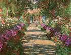 Main Path through the Garden at Giverny Claude Monet Repro Canvas Wall Art Print