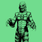 Creature from the Black Lagoon 1954 Monster cult movie T Shirt Mens XL Emerald