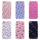 1PC Floral Jacquard Pattern Soft TPU Cover Case For iPhone 6 Plus 5.5' Gayly