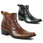 Ferro Aldo Mens Dress Ankle Boots Shoes w/ Leather Lining M-606001A