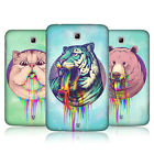 HEAD CASE RAINBOW SLOBBER SNAP-ON BACK COVER FOR SAMSUNG GALAXY TAB 3 7.0 P3200
