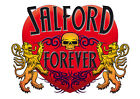 Brand NEW Printed T-SHIRT Quality SALFORD Forever, All Sizes, All Colours