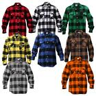 Extra Heavyweight Brawny Flannel Shirt, Buffalo Plaid, Five Color Options