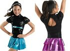NEW 'Holly Rock' Sparkle Tap Jazz Skating Baton Competition Costume Dress