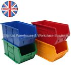 NEW British Made Strong Plastic Parts Storage Bins Boxes - Box Of 10 x Size 5