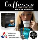Caffesso Nespresso Compatible Capsules - 8 Award Winning Blends to Choose From
