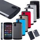 Premium Hybrid 2-Layer Shockproof Armor Hard Case Cover for LG Google Nexus 5