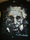 ALBERT EINSTEIN IT'S ALL RELATIVE T-SHIRT NEW !
