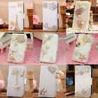 """Deluxe Diamond Heart Bow Crown Leather Case Cover For Iphone 6 4.7 Plus 5.5"""""""