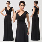 DEEP V Long Maxi Empire Waist Slim Homecoming Evening Party Prom Debut Dresses