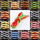 Flat Multi-color Sneakers Athlete Shoe Boot Cord Strinlaces Shoelaces Bootlaces