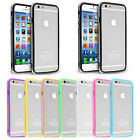 "1X Clear Hybrid Soft TPU Bumper Case Cover Skin For iPhone 6 4.7"" 6+ Plus 5.5"""