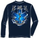 Erazor Bits FF2059 Long Sleeves On Call For Life EMS Long Sleeve T-Shirt