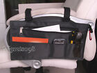 Wheelchair Scooter Armrest Bar Organizer Storage Wallet Bag Case/Velcro Attach