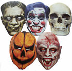 Halloween Horror Scary Face Masks- Great for costumes/parties - 1st Class Post