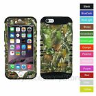 """For 4.7"""" iPhone 6 Camo Camouflage Mossy Oaks Hybrid Rugged Impact Case Cover"""