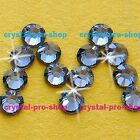 GENUINE Swarovski Denim Blue (266) Crystal (No hotfix ) Flatback  Rhinestone