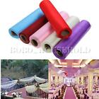 Roll Of Crystal Organza Sheer Fabric Soft Wedding Gift Party Bow DIY 26M X 28CM