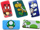 Nintendo: Super Mario Padded Hinged Purse/Clutch Bag New Official Goomba/Yoshi