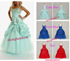 Hot Sales New Stock Flower Girl's Dress Wedding Bridesmaid Party Formal Dress