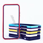 For Apple iPhone 5C New Thin TPU Rubber Silicone Soft Bumper Frame PC Cover Case