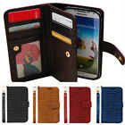 Samsung Galaxy s5 g900 g901f Gavialis Two-Side wallet Phone case With Strap