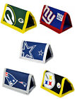 NFL: Tri Fold Wallet Coin Pocket Steelers/Cowboys/Giants/Patriots - New Official