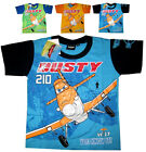 DISNEY PLANES DUSTY Boys cotton summer t-shirt Size 4, 6, 8 Age 3-5 yrs FreeShip
