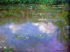 Canvas Art Print The Cloud Water Lilies Lily Claude Monet Painting Reproduction