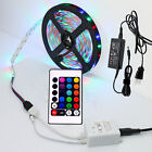 3528 5M RGB Multicolor 300 SMD DC12V LED Flexible Strip Light + 24 Key IR Remote