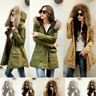 NEW Women Thick Winter Fashion Big Real Fur Collar Warm Down Cotton Thick Coat