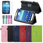 "For Samsung Galaxy Tab 3 T310 8.0"" 8-inch Tablet Leather Stand Smart Case Cover"