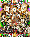 EVERLY BROTHERS TRIBUTE T-SHIRT OR PRINT BY ED SEEMAN